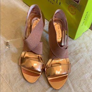 Ted Baker Rose Gold Dress Shoes